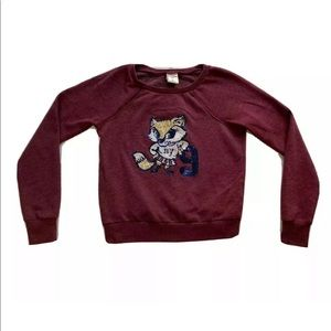 Abercrombie & Fitch Kids Sequins Fox Sweatshirt